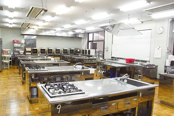 調理学実験・<br>実習室